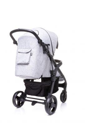 4baby Quick pastaigu rati - Light Grey/ g. pelēki