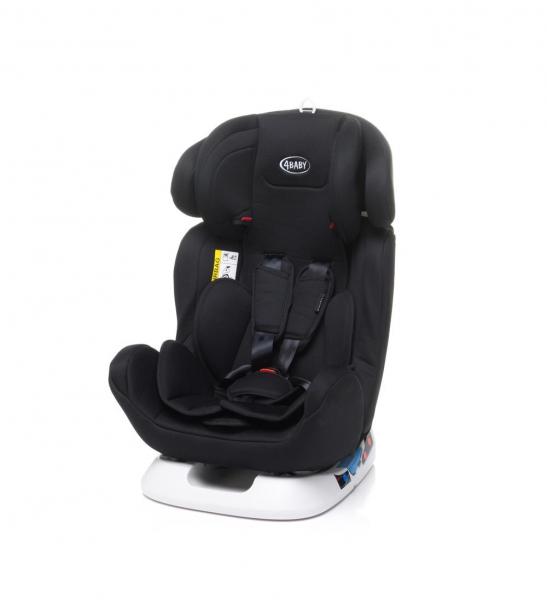 4baby Captiva 0-36kg auto sēdeklis - Black/ melns