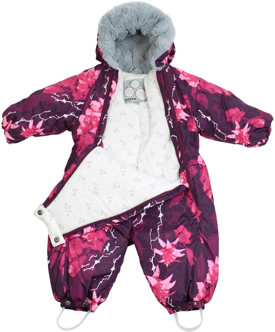 Huppa ziemas kombinezons MARY 68izm, burgundy pattern art. 91834