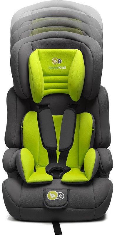 KinderKraft Comfort Up Lime autosēdeklis