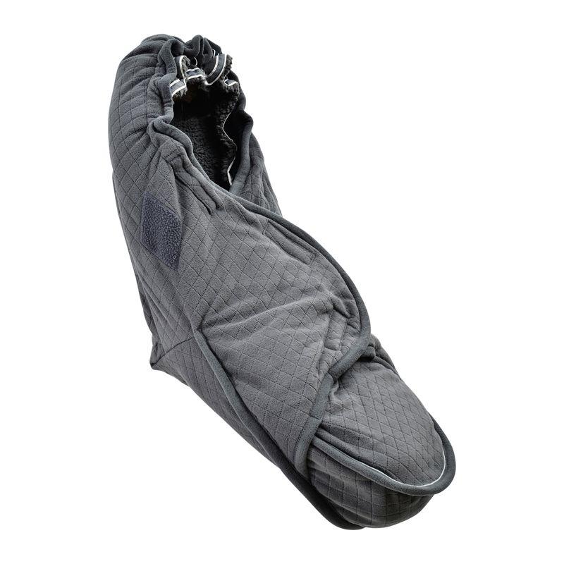 LODGER BUNKER Fleece konvertiņš - Coal
