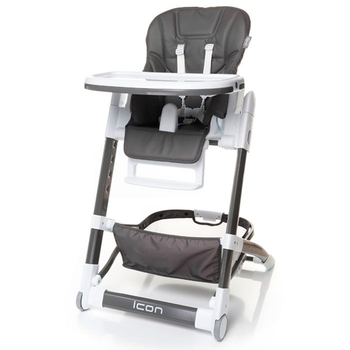 4baby barošanas krēsls Icon - pelēks