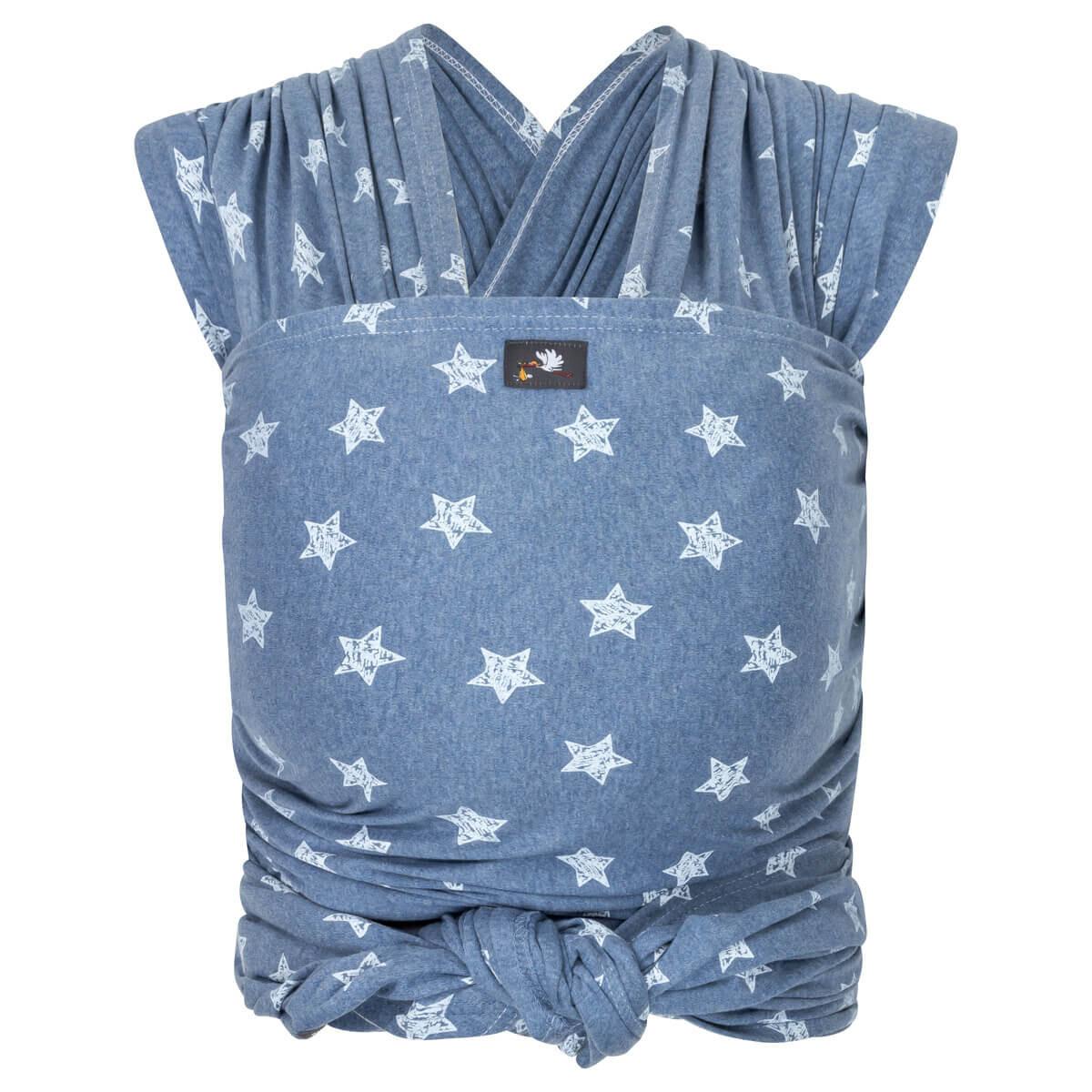 HOP-TYE ELASTĪGAIS SLINGS- blue stars