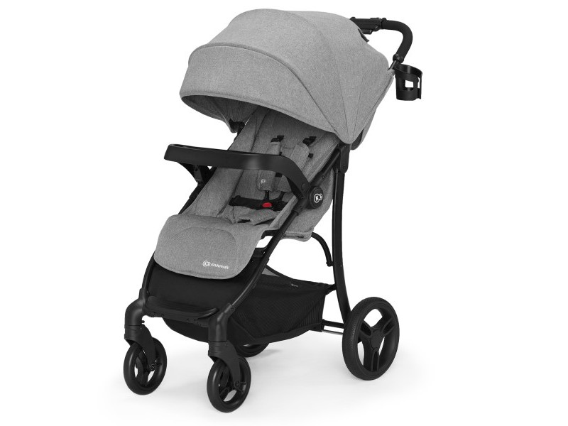 Kinderkraft Cruiser, Grey, pastaigu/sporta rati