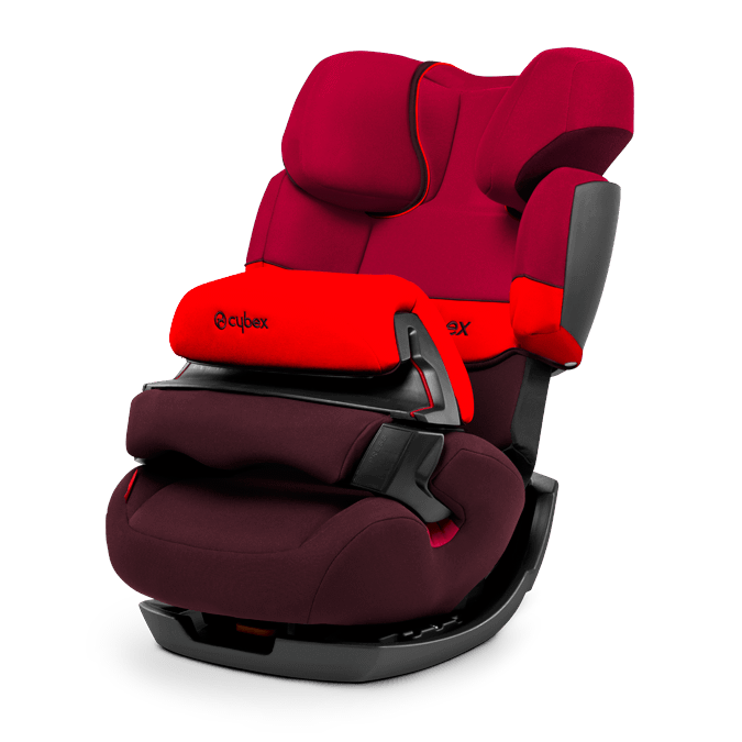 Cybex Pallas 2 Fix auto krēsls 9-36 kg - Rumba Red