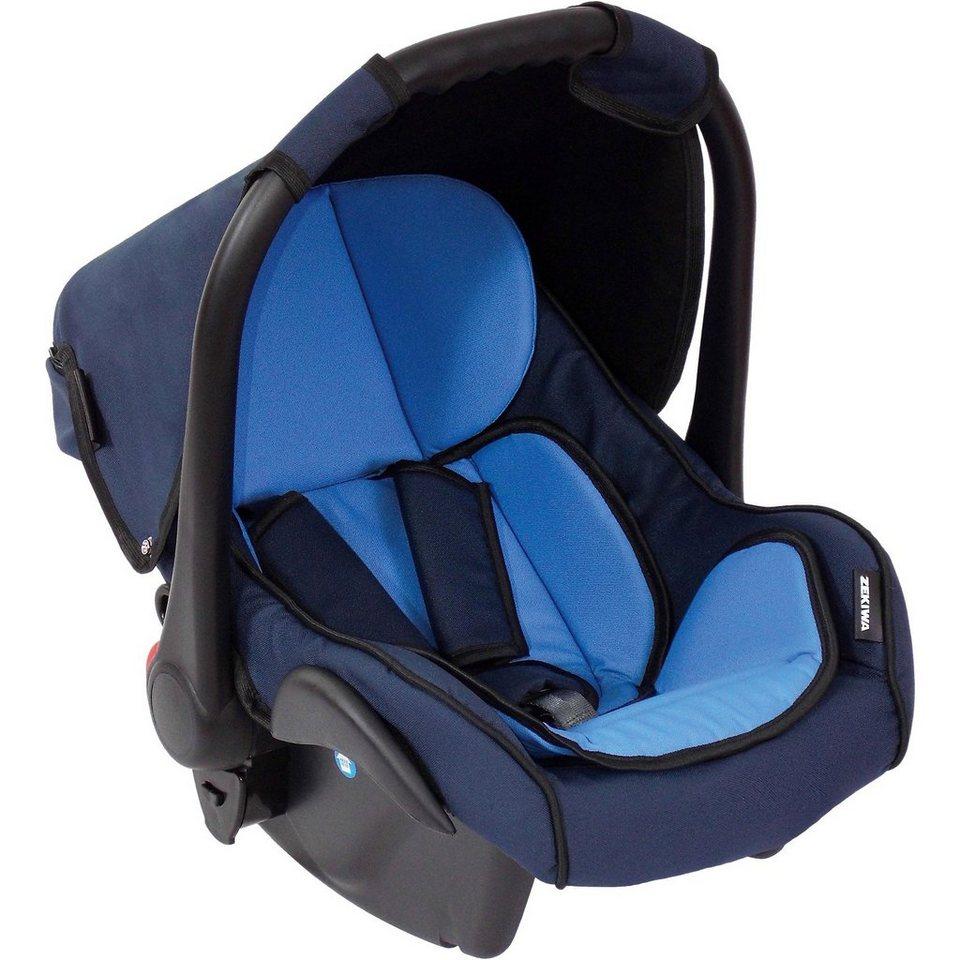 Zekiwa auto sēdeklītis 0-10 kg Plus, krāsa Gaiši zila